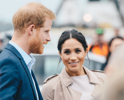 Royal couple, Prince Harry and Meghan Markle