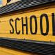 District Schools on yellow school bus