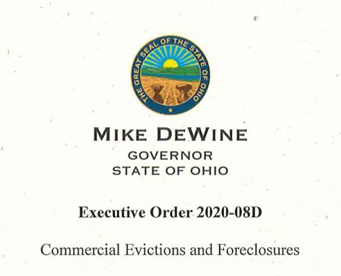 Ohio Executive Order 2020-08D