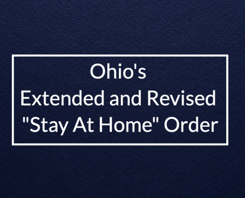 Ohio's Extended and Revised Stay At Home Order
